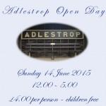Adlestrop Open Day 2015