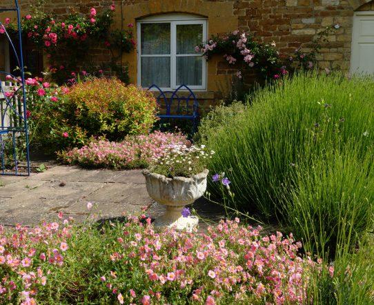 A Garden Scene at Adlestrop