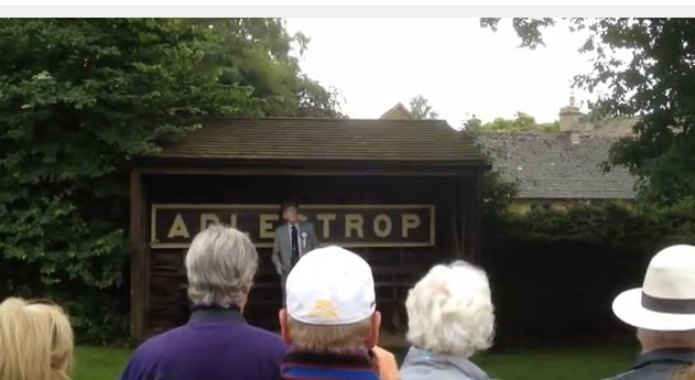 Robert Hardy reading Adlestrop