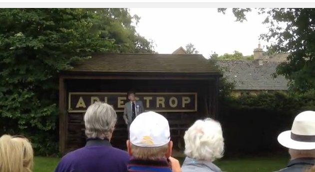 Robert Hardy reading Adlestrop